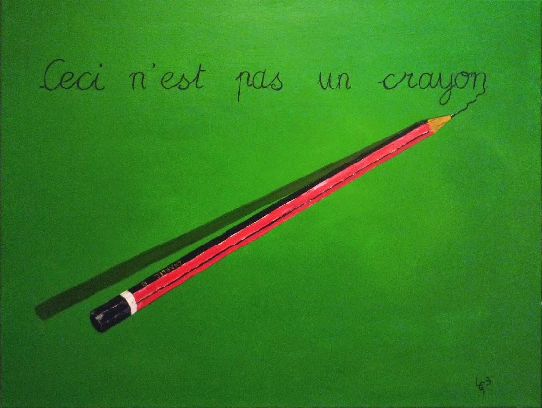 lgbcreation charlie hebdo bouddhisme art creation peinture ceci n'est pas un crayon